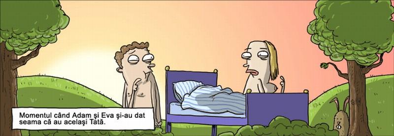 Момент, когда Адам и Ева вдруг всё осознали(Секс, прошлое, в постели