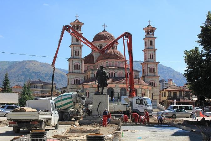 """Catedrala Creştin-Ortodoxă """"Reînvierea"""" din Korçë"""