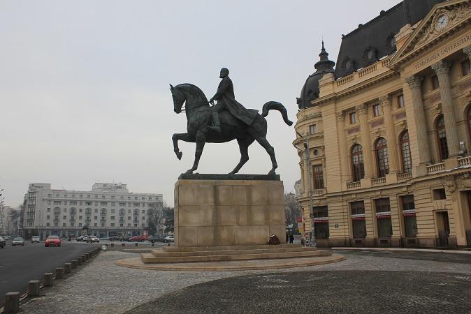 Statuia Regelui Carol I