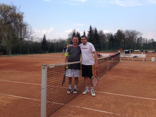O după-amiază în care am fentat ploaia, dar nu și tenisul. Foto: Laura Beligăr