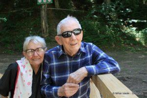 Walter şi Amalia în Cheile Râşnovului