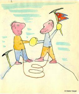 Walter Kargel, maestru în desene şi caricaturii