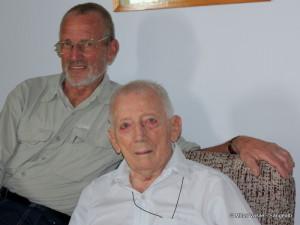 Peter Fiege, un vechi prieten, care nu uită niciodată când e ziua de naştere a lui Walter Kargel