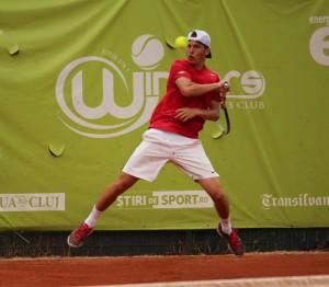 Patrick Ciorcilă a jucat semifinale la Cluj, la futuresul de 15.000 de dolari