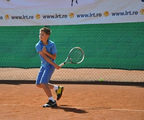 Marc Miholca, unul dintre îndrăgostiții de tenis