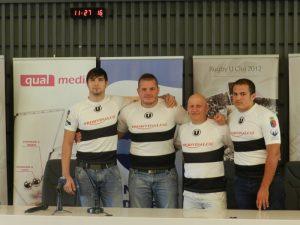 noii jucatori rugby U Cluj