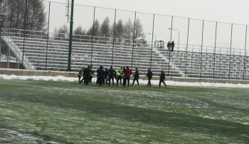 Antrenamentul echipei Romaniei