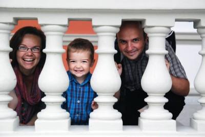 Mihaela, Andrei și Lucian Bar, oameni faini