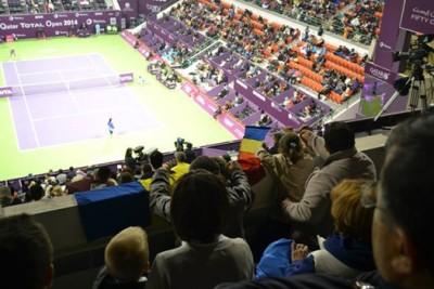 O mostră de la fața locului cu tricolorul românesc.  Foto: Rareș Călimac
