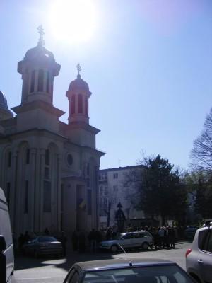 Așa arată biserica, în toată măreția ei.  Foto. Tiberiu Matei