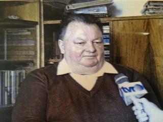 Paul Marcu, intr-o emisiune la TVR Cluj. Foto: arhiva Puiu Banu