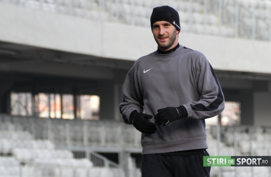 Max Nicu și-a recăpătat zîmbetul Foto: Daniel Rus, stiridesport.ro
