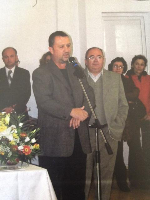 Alături de Puiu, la memorialul Farkas Paneth