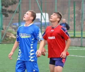 Calcan (în dreapta), anul trecut la Cupa Liceelor, anul acesta printre titularii lui U Cluj
