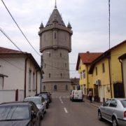 Turnul de apă. Restaurat cu 1 mililon de euro.