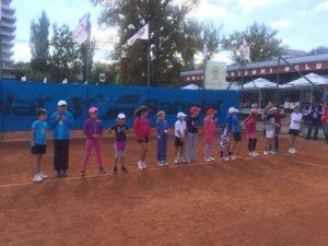 In acest week-end, tinerii jucători de tenis din Cluj au participat la circuitul Tenis 10, la Winners Tennis Club.
