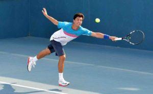 Alex Jecan, un tenisman  spectaculos.