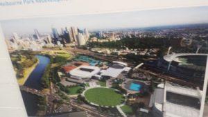 Și o poză făcută de Adi Szabo, cu complexul de la Melbourne