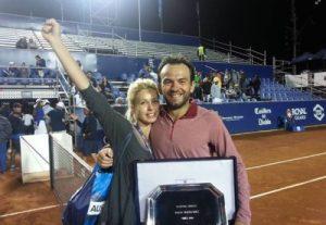 Florin, alături de Daiana, după un trofeu cucerit acum un an, la Vina del Mar