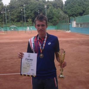 Ioan Dani Abrudan, cu diploma și cupa pentru locul al treilea