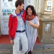 O întîlnire între cunoștințe vechi: Gill Viandier și Daniela Maier