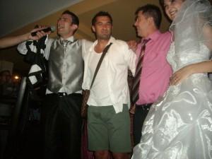 La nunta sa a fost prezent și Claudiu Niculescu.