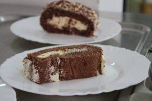 O prăjitură...clasică.