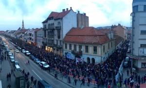 U Cluj. Foto: Daniel Rus