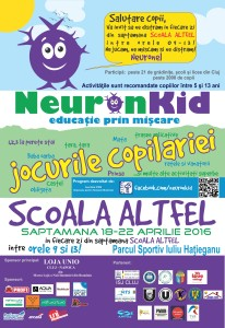 Afise print Scoala Altfel 50x70 print