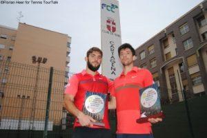 Cu trofeul de la Murcia, Spania.