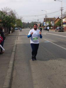Mi-am încurajat și eu favoritul, pe Adi Hădean, cel care a terminat cursa de maraton. Maratonul cel mare, cum ar veni...