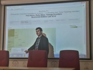 Prezentarea lui Radu Meza foto: Andreea Mogoș