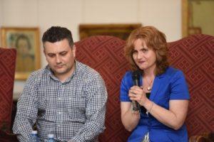 Ioana Cadar, organizatorul și totodată directorul evenimentului Foto: www.directmultimedia.ro