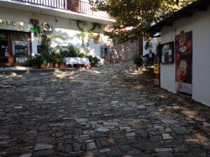 Liniștea din Zagora, înainte de venirea președintelui Greciei