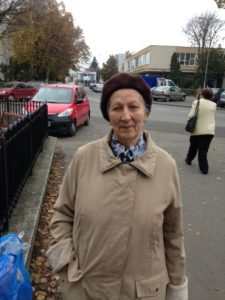 Ana Albu (Anghel), la 87 de ani