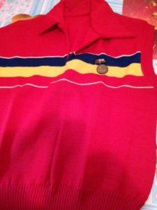 Tricoul oficial de campioană, 1953.