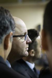 Antrenorul clujean Mihai Silvășan. Foto: Manases Sandor (U-BT Cluj Napoca)