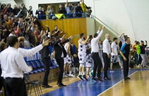 Echipa, după victoria cu Larnaka din cupele europene, repetată azi cu Steaua. Foto: u-bt.ro (autor Sandor Manases)