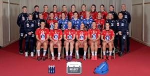 Echipa Norvegiei Foto: http://swe2016.ehf-euro.com/teams/group-d-helsingborg/norway/