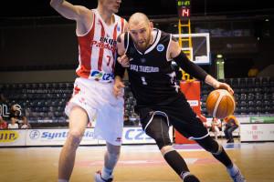 Vlad Moldoveanu, în acțiune, în cupele europene Foto: Manases Sandor (www.u-bt.ro)