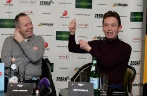 Doherty și Higgins, prezenți la Cluj, au fost serviți cu preparate de la Zebra