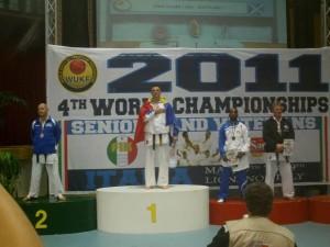 Dragoș Cociașu, aici campion mondial, în 2011