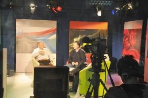 M-am bucurat sa fiu in prezenta domniei sale, in citeva emisiuni la TVR Cluj