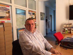 Directorul de vînzări Carl Geog Dabala, clujean de-al nostru