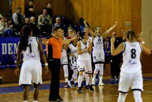 Meciul fetelor de la  U Cluj încheie prima etapă din liga națională de baschet