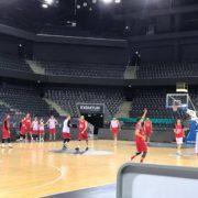 Echipa României, la antrenament, în Polivalenta din Cluj Foto: Daniela Maier