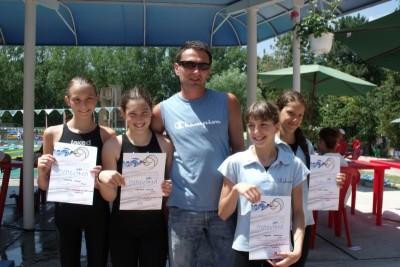 Ciprian Beșe, antrenorul celor de la Swim Cluj Sursa foto: Sportul Bistrițean