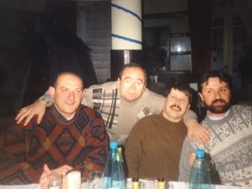 Mircea Galoș, Puiu Banu, Viorel Constantinescu și Ovidiu Blag, acum vreo...15 ani buni
