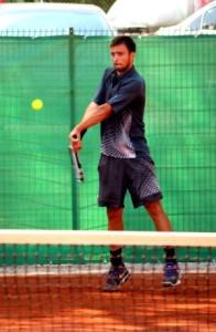 Patrick Grigoriu, jucătorul celor de la Winners Tennis Club Cluj
