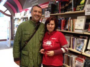 Cu doamna Gabi Roman, o profesionistă a cărții...